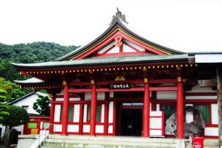 厳島神社 寶物館